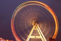 Fairground Ferris koło Fotografia Royalty Free
