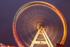 Fairground Ferris Wheel Royalty Free Stock Photography