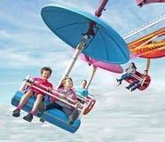 Fairground fun ride Royalty Free Stock Photos