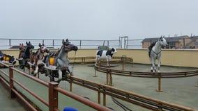 Fairground horse ride Royalty Free Stock Image
