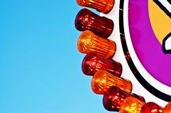 Fairground lights Stock Photos