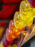 Fairground lights. Colorful fairground lights with a shallow depth of field Stock Images