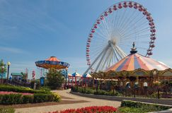 Fairground on Navy Pier Stock Photos
