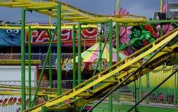 Fairground przejażdżka Fotografia Royalty Free