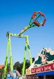Fairground przejażdżki przy Oktoberfest w Monachium Zdjęcie Royalty Free