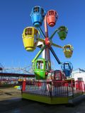 Fairground przejażdżka Obraz Royalty Free
