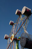 Fairground Ride. Colorful revolving theme-park fairground ride Royalty Free Stock Photography