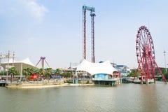 Fairground ride stock photos