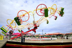 Fairground ride, Mablethorpe. Royalty Free Stock Photo