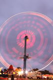 Fairground Ride. Motion blur Fairground ride at night Royalty Free Stock Photography