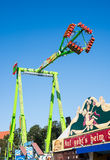 Fairground Rides at the Oktoberfest in Munich Royalty Free Stock Photo