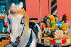 Fairground vintage style colors Stock Images