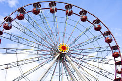 Fairground wheel Stock Image