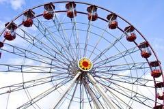 Fairground wheel stock image