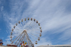 Fairground Wheel and Pier15 Royalty Free Stock Photo