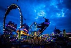 Fairground wrzaski Fotografia Stock