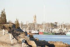 Fairhaven för unitariekyrka strand Royaltyfria Foton