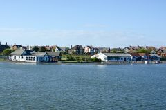 Fairhaven lake Royalty Free Stock Image