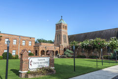 Fairhope united Methodist church Royalty Free Stock Photography