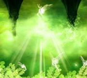 Fairies. Fantasy background for your artistic creations vector illustration