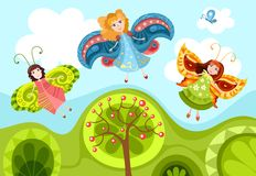 Fairies Royalty Free Stock Photo