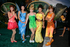 "Fairies. Arriving at the DVD Launch of ""Tinkerbell"" at he El Capitan Theater in Hollywood , CA on October 19, 2008 Stock Photography"
