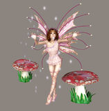 Fairies. Digital beauty for your artistic creations and/or projects Royalty Free Stock Photos