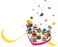 Fairies of chocolate Royalty Free Stock Photo