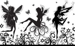 Fairies dance Royalty Free Stock Images
