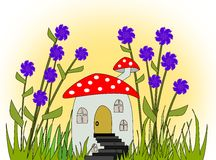 Fairies Home Royalty Free Stock Photos