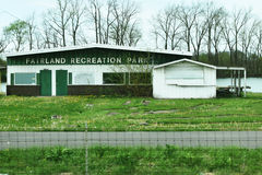 Fairland Recreation Park. In Shelbyville, Indiana.  Outdoor recreation such as paddling, golf, and camping Stock Image