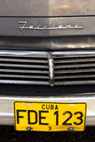 Fairlane. Classical American car stock photos