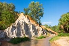 Fairly stream , Mui ne, Vietnam.  Stock Photo