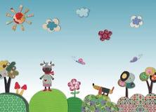 Fairly tale landscape Stock Image