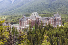 Fairmont Banff Spring Hotel II royalty free stock photography