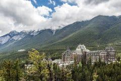 Fairmont Banff Spring Hotel Stock Photo