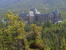 The Fairmont Banff Springs Royalty Free Stock Photography