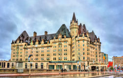 The Fairmont Chateau Laurier in Ottawa, Canada. The Fairmont Chateau Laurier in Ottawa - Ontario, Canada. Built in 1912 Stock Photo