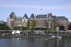 The Fairmont Empress hotel Victoria BC Canada Stock Photography