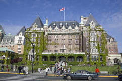 The Fairmont Empress hotel Victoria BC Canada Stock Images