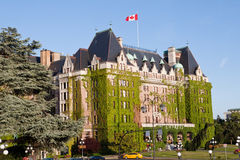 Fairmont Empress Hotel Victoria Canada Stock Photography