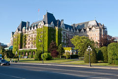 Fairmont Empress Hotel Victoria Canada Royalty Free Stock Image