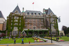 Fairmont Empress Hotel, Victoria, Canada Stock Photos