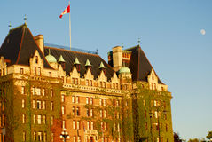 The Fairmont Empress Stock Image