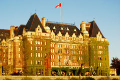 The Fairmont Empress Stock Photography