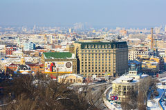 Fairmont Grand Hotel in Kiev Royalty Free Stock Photo