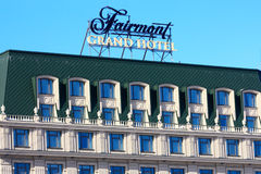 Fairmont Grand Hotel in Kiev Royalty Free Stock Photography
