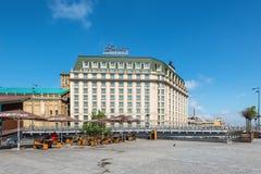 Fairmont Grand Hotel Kyiv in Ukraine stock photo