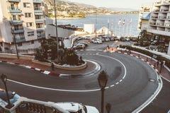 Fairmont Hairpin - Monte Carlo Stock Image