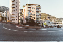 Fairmont Hairpin - Monte Carlo Royalty Free Stock Images